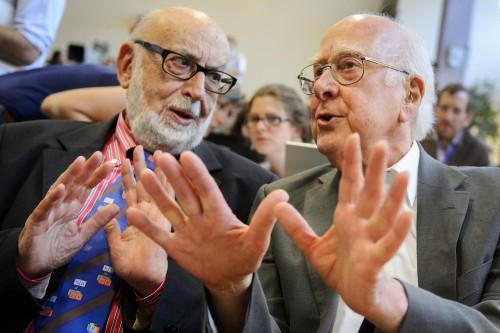 Francois Englert e Peter Higgs