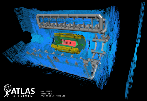 (Immagine: ATLAS, CERN