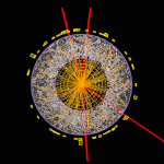 Higgs in quattro muoni: l'event display