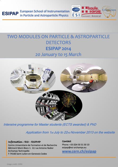 Poster ESIPAP 2014